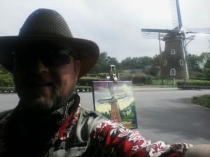 Mondrian's Windmill